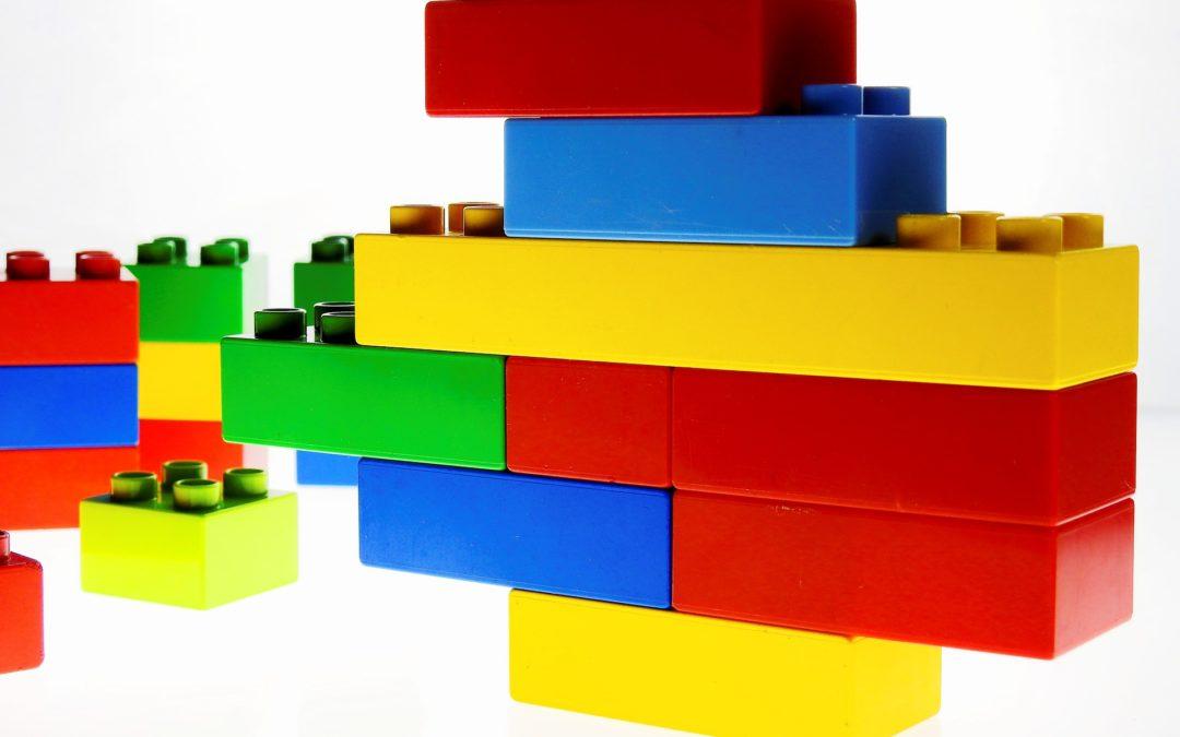 Coro Time, semaine 2 : assemblage de Lego